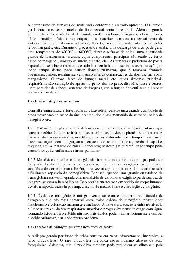 b037f9719069c Riscos ocupacionais no processo de soldagem solda eletrica