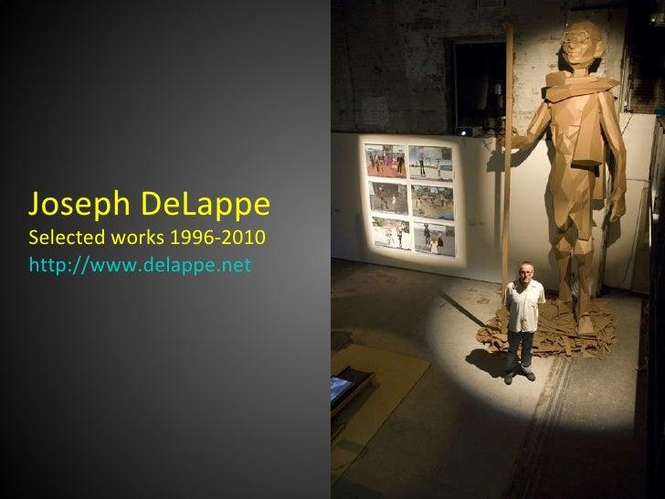 Joseph DeLappe Selected Works 1996-2010