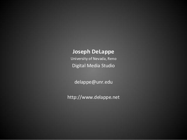 Joseph DeLappe's Student Work 2005-2015