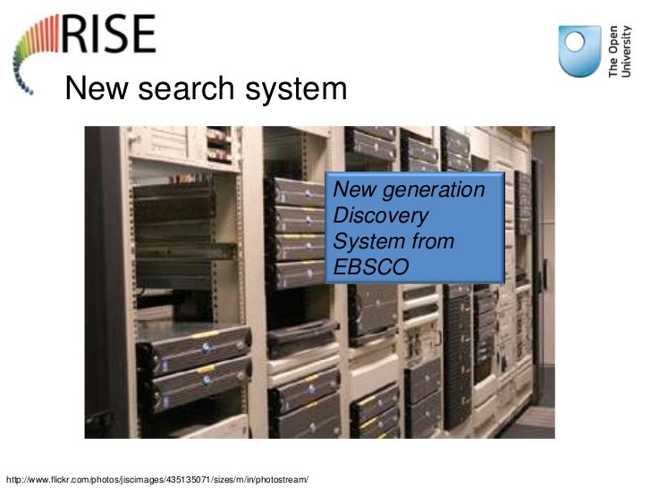 New search system                                                                            New generation               ...
