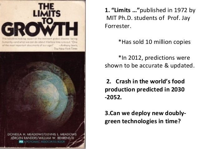 the limits to growth pdf