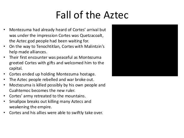 demise of the aztecs