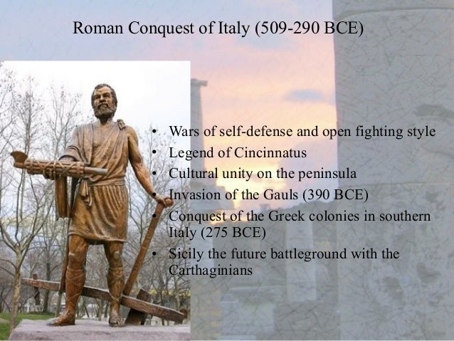Rise and fall of republican rome