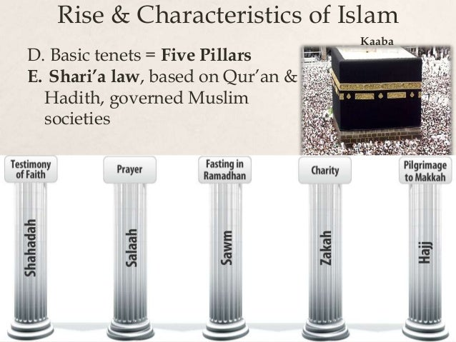 rise spread of islam  the spread of islam began when, around 613 ce, the islamic prophet muhammad began to share the revelation which god had, according to muslims, started to give to him three years previously during the rest of his life, the muslim ummah was established in arabia.