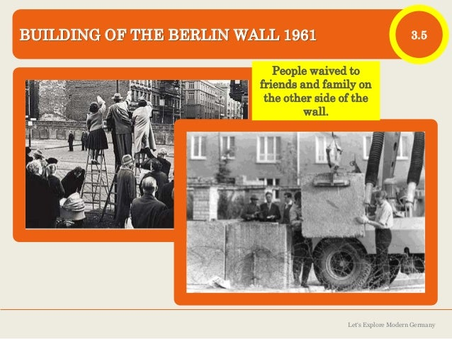 an analysis of rising and falling of the berlin wall Mistakes by east german officials and rising opposition by large numbers of everyday citizens led to the opening  how the berlin wall really fell.