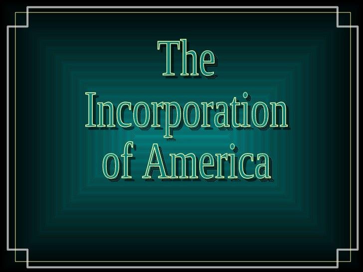 Corporate America essay