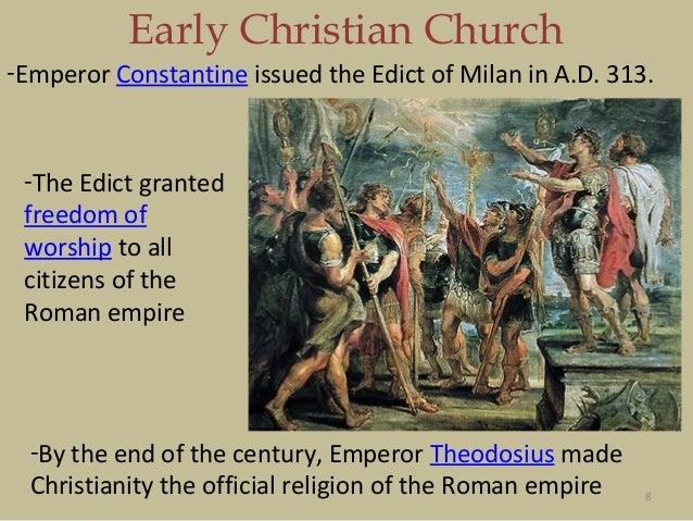 Bi 208 Rise of Christianity in Rome