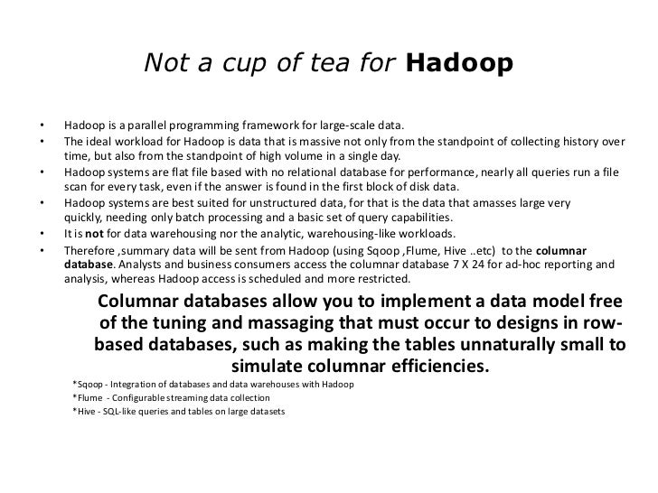 Rise of Column Oriented Database