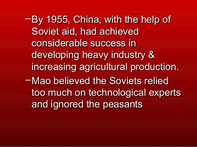 rise of mao With china's resurgence, mao also charted a new course in foreign  chinese  communism and the rise of mao, it was a heresy in act.