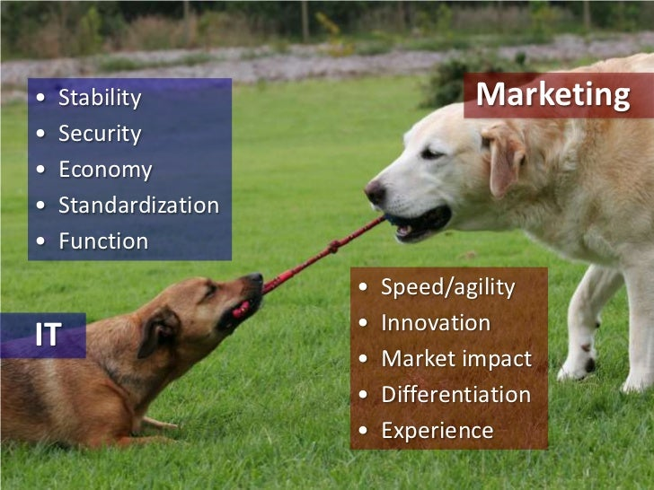 Marketing<br />•  Stability<br />•  Security<br />•  Economy<br />•  Standardization<br />•  Function<br />•  Speed/agilit...