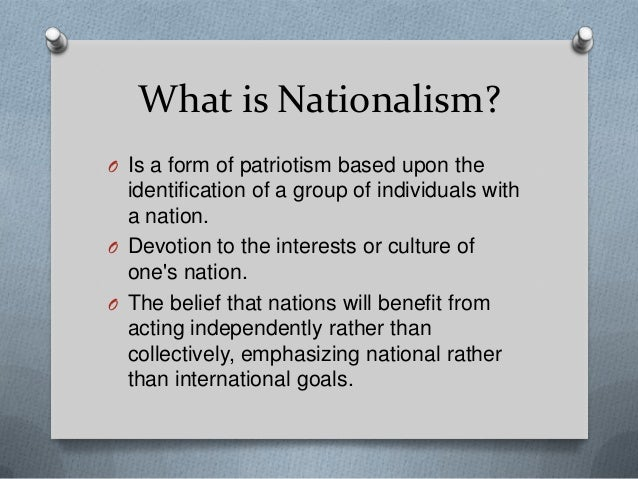 essay on nationalism vs globalism Discussion – nationalism (patriotism) vs globalism do you need help with your school visit wwwlindashelpcom to learn about the great services i offer.