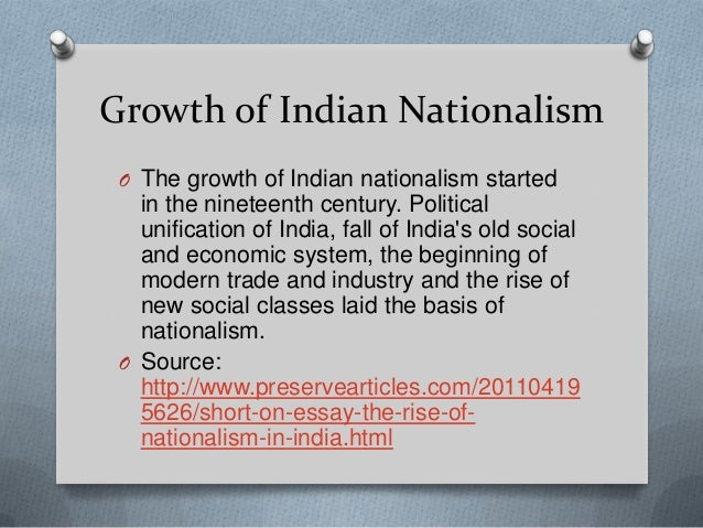 hindi nationalism essay Nationalism without liberalism is a monster the way to manage tensions is not to give up one for the other, as the left and the right wing demand of us, but to.