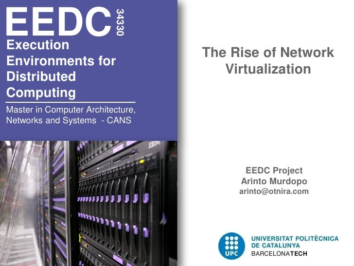 EEDC                          34330Execution                                   The Rise of NetworkEnvironments for        ...