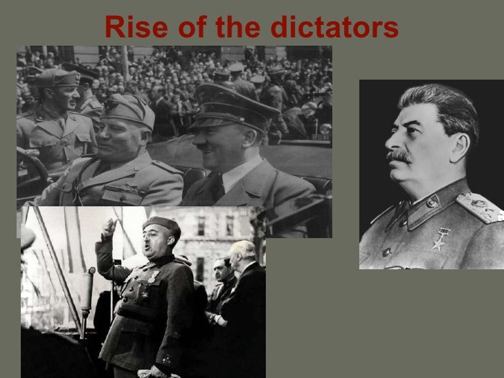 Rise of the dictators