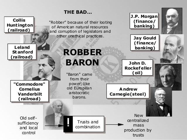 Rise Of The Robber Barons