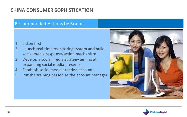 CHINA CONSUMER SOPHISTICATION  November 10, 2010 Recommended Actions by Brands  <ul><li>Listen first  </li></ul><ul><li>La...