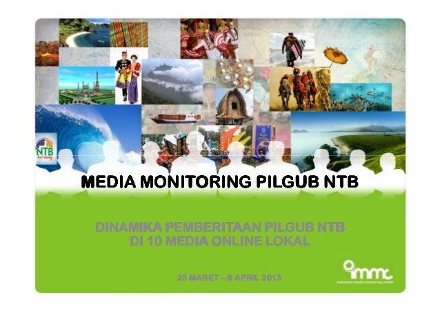 MEDIA MONITORING PILGUB NTBMEDIA MONITORING PILGUB NTBMEDIA MONITORING PILGUB NTBMEDIA MONITORING PILGUB NTBMEDIA MONITORI...