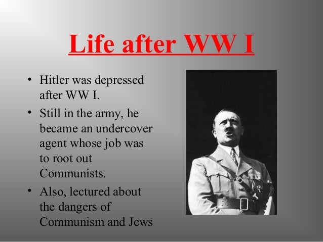 the rise to power of hitler Amazoncom: hitler: ascent, 1889-1939  he said hitler's rise to power looks very much like what the democrats are doing in our political environment today.