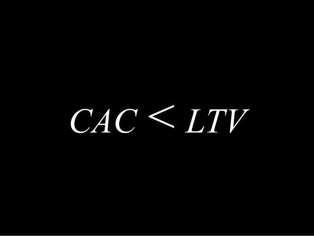 CAC < LTV