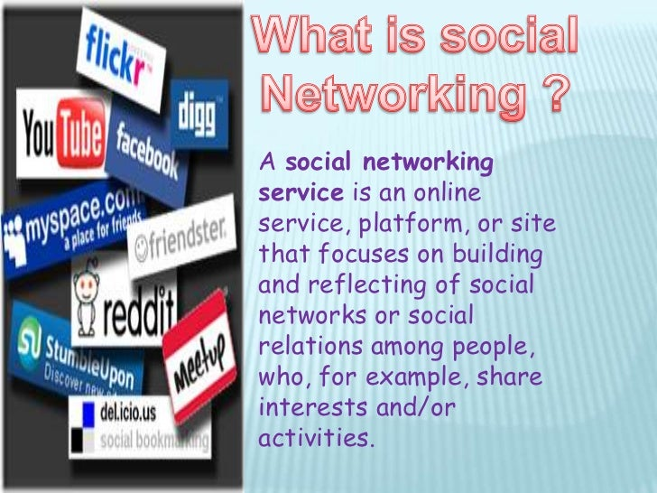 disadvantage of social networking website