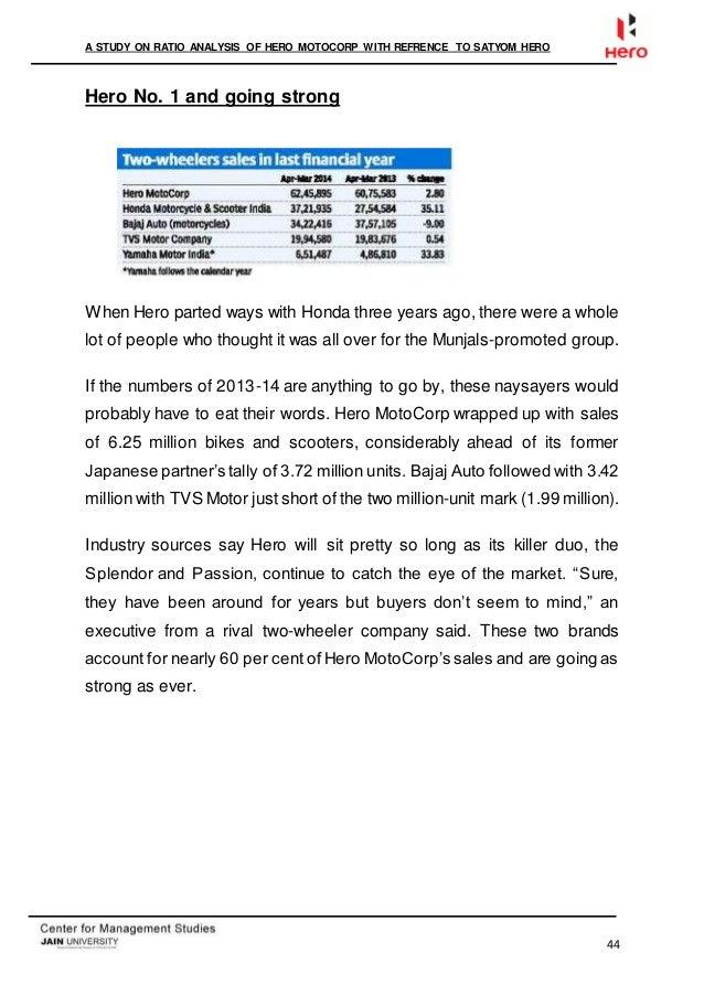 External factors at the Honda company