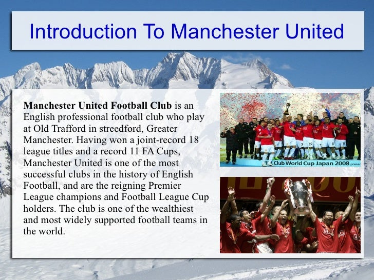 a history of manchester united one of the most successful football clubs in britain History of football essay  manchester united football club history  manchester united football club is one of the most successful clubs in britain.