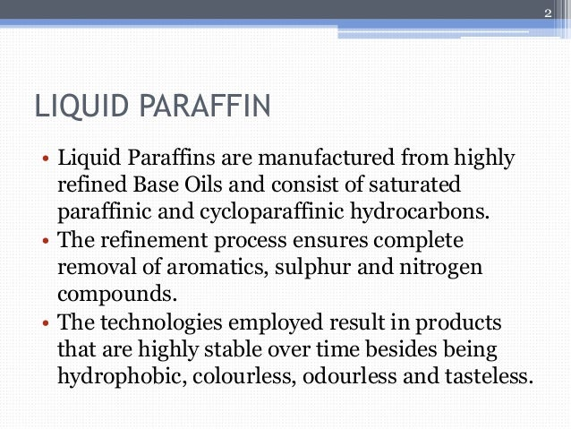 Heavy Liquid Paraffins