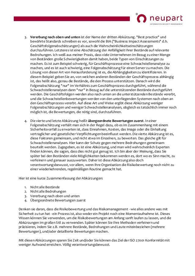 IT-Risikobewertung - 4 verantwortungsbewusste abkürzungen