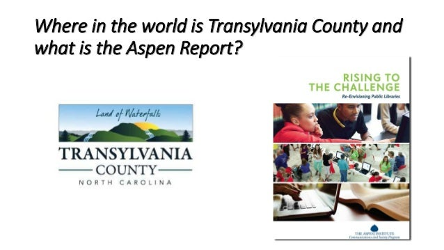 NCompass Live: Rising to the Challenge: Using the Aspen Institute Report and Action Guide for Strategic Planning Slide 2