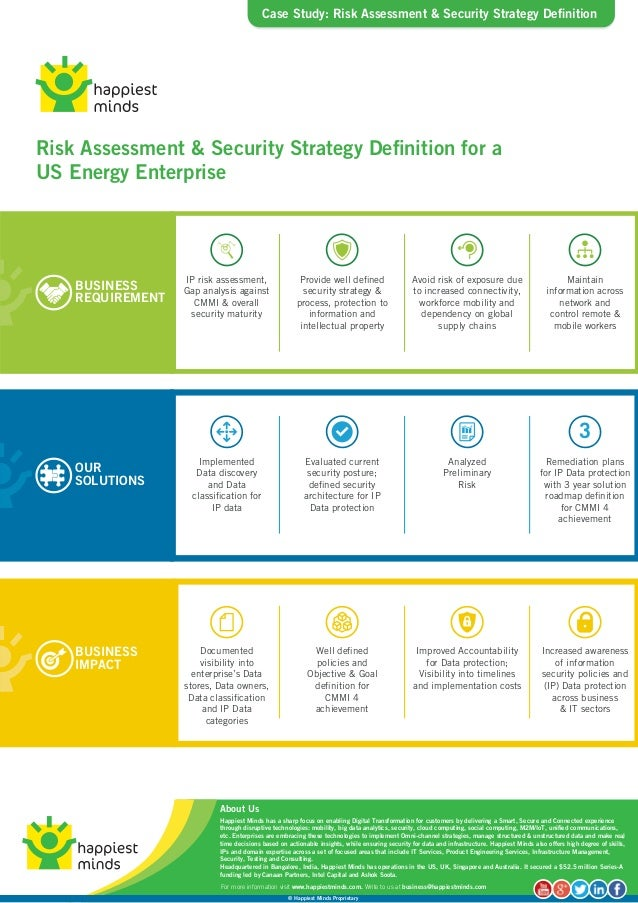 case study  risk assessment  u0026 security strategy definition