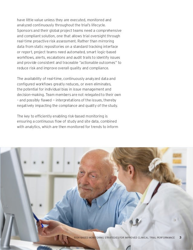 """risk based monitoring of survival data Our team is devoted to providing the best practices for risk based monitoring  """" deciding whether and how to use ehrs as a source of data in clinical."""