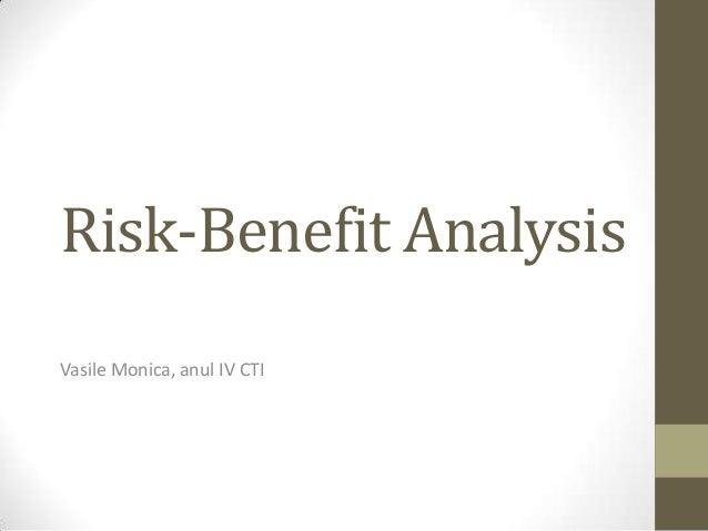 risk benefit analysis