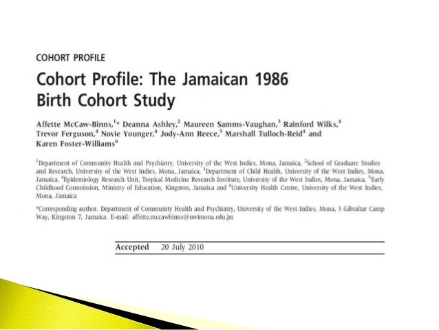 A Prospective Birth Cohort Study on Pre- and Peri-natal ...