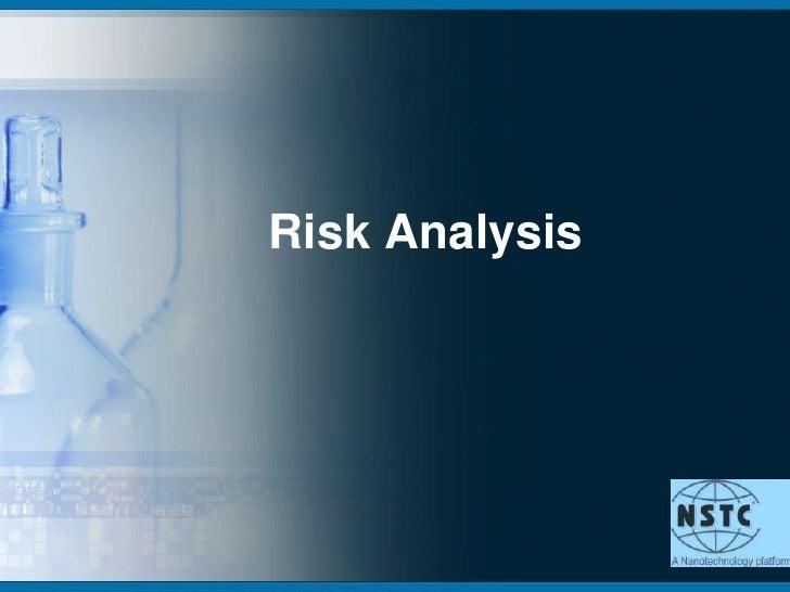 Risk Analysis<br />