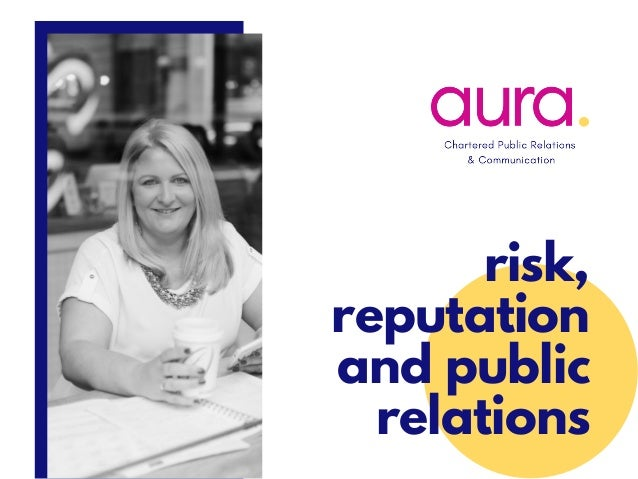 risk, reputation and public relations