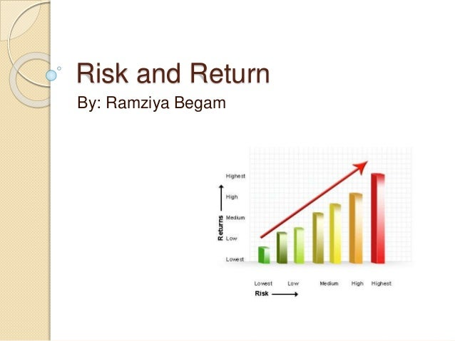 how to evaluate risk and return