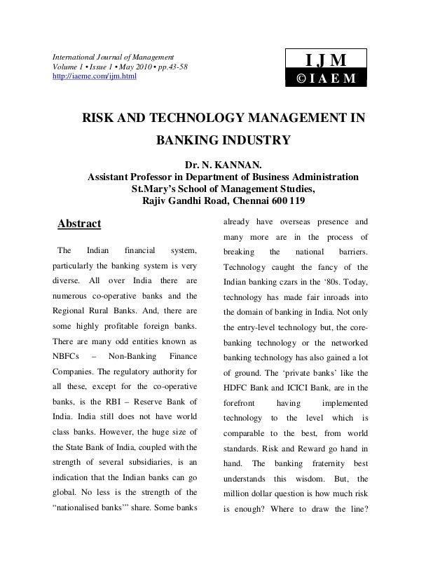International Journal of ManagementVolume 1 • Issue 1 • May 2010 • pp.43-58                                   IJMhttp://ia...