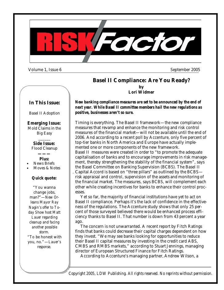 Volume 1, Issue 6                                                                  September 2005                         ...