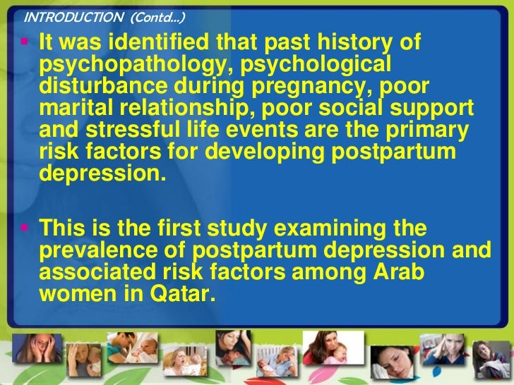 relationship between social support and postnatal depression