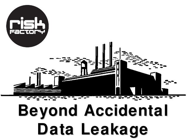 Beyond Accidental  Data Leakage