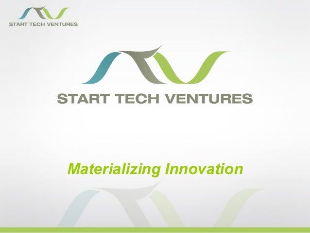 Materializing Innovation