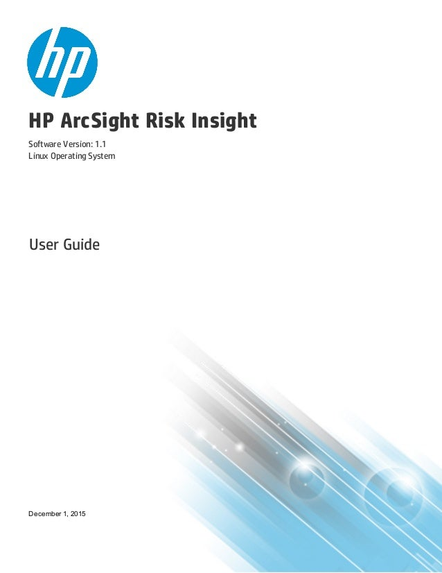 User Guide for Risk Insight 1 1