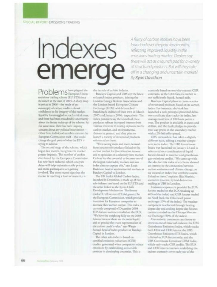 Risk Magazine - Apr 08 - UBS Greenhouse Index - ilija murisic