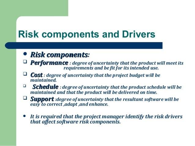 risk drivers in risk management