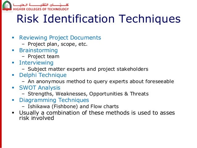 risk identification and planning Project mangement plan examples prepare project support plans and documentation - project risk assessment examples example 54 100 project risk.
