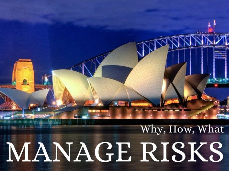 What is a risk?WHAT ARE RISKS?