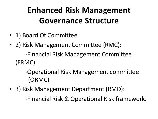 risk management of a bank With risk management products, smes can have protection against term, interest  and exchange rate risks they may encounter when performing foreign trade.