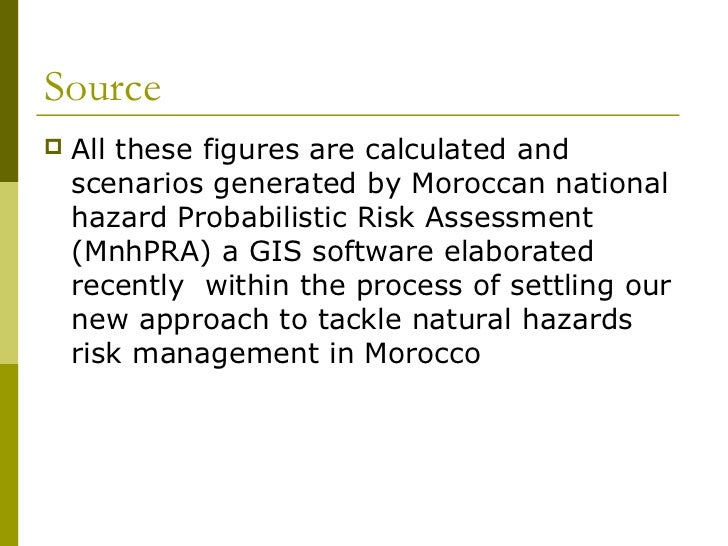Hazard assessment helps us