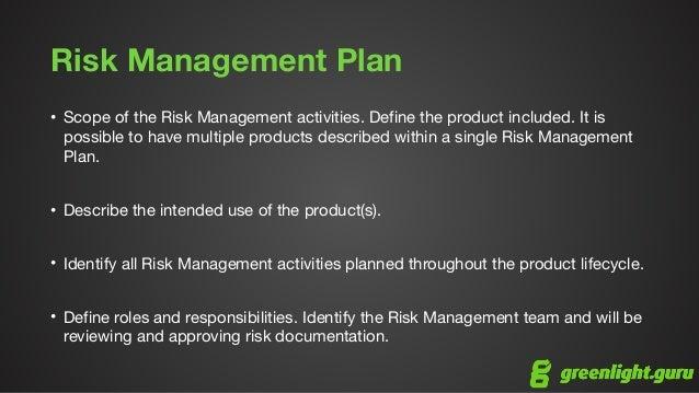 risk management for medical devices iso 14971 overview. Black Bedroom Furniture Sets. Home Design Ideas