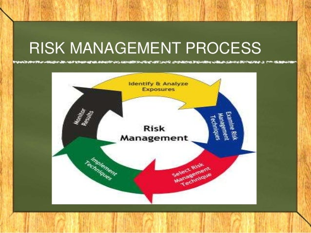 Risk management with special reference to